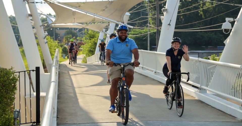 Bicycle park gets community in on pedaling passion